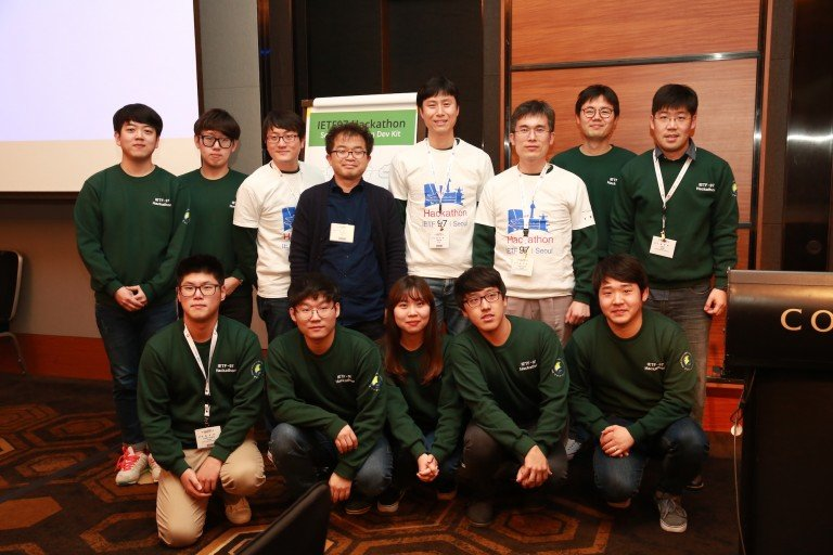 Team from Sungkyunkwan University IETF Hackathon at IETF 97