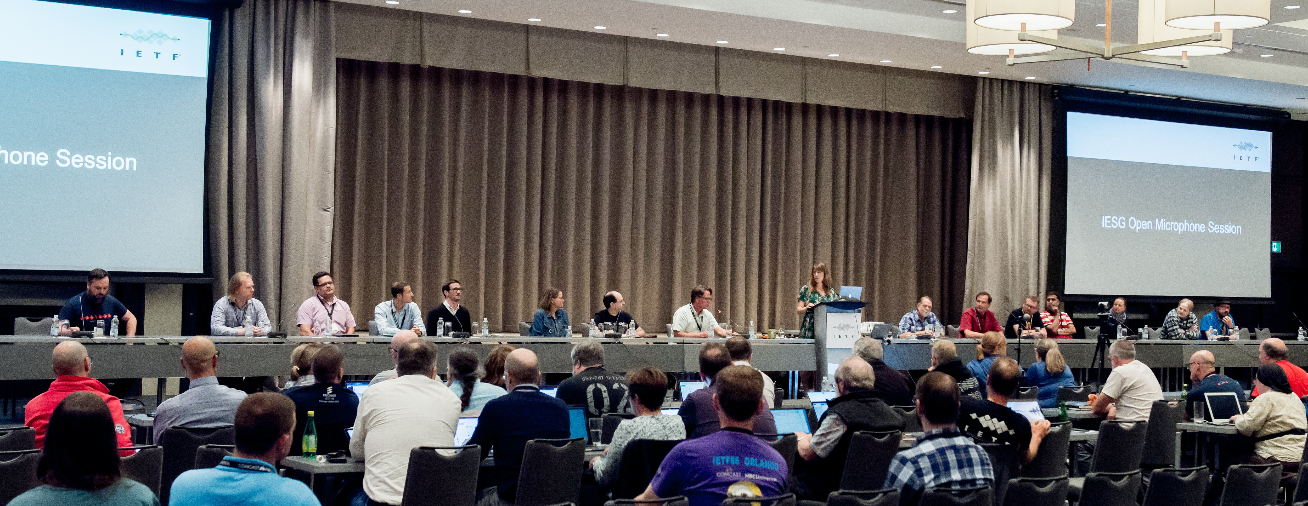 IESG Open microphone portion of the IETF 105 Operations and Administrative plenary