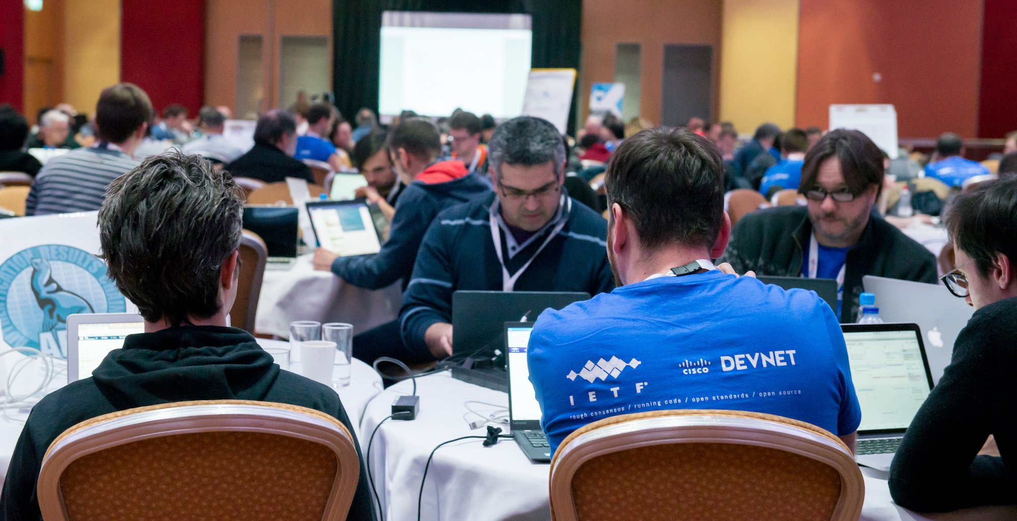 IETF Hackathon in London t-shirt
