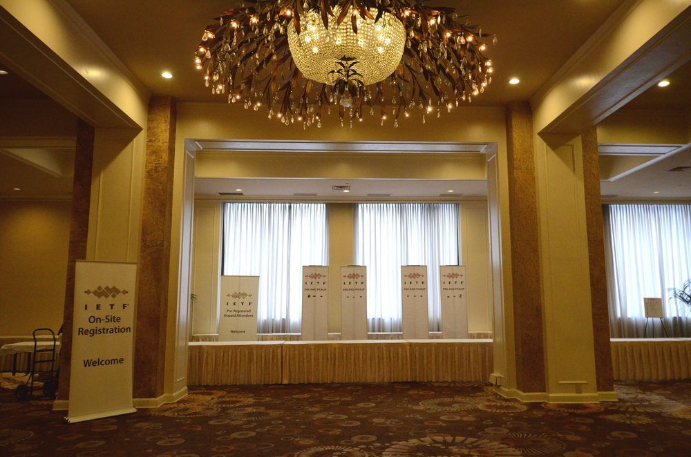 Empty registration at IETF 92