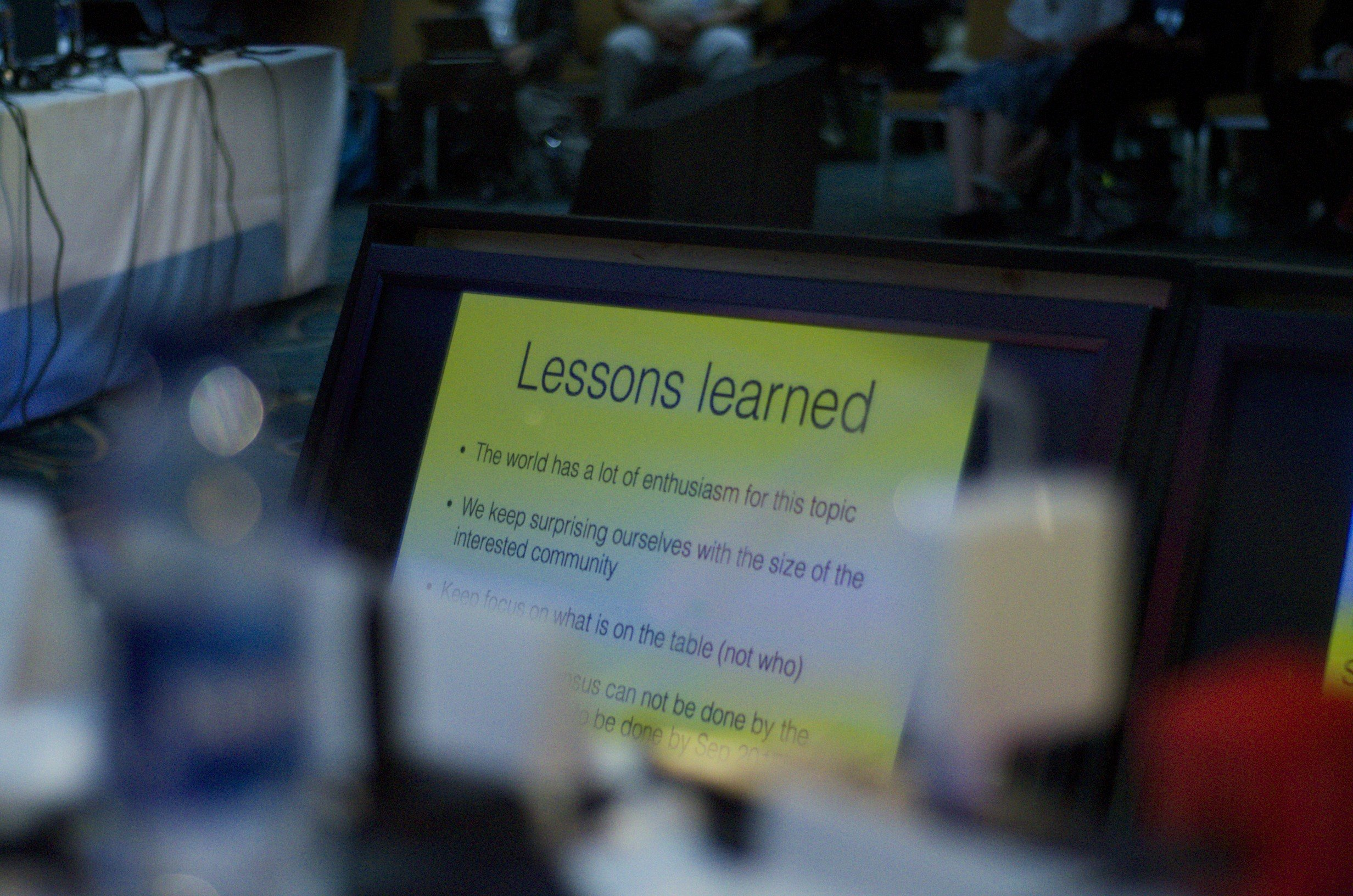 Lessons learned about IANA as shown at ICANN50.